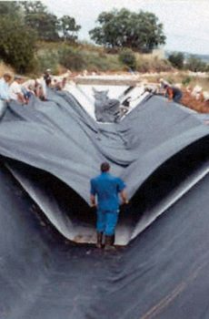 EPDM geomembrana